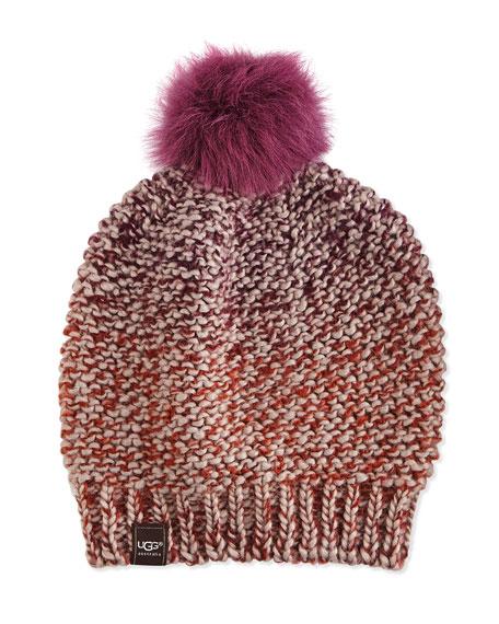 Grand Meadow Beanie w/ Fur Pompom