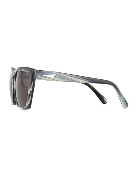 Square Cat Eye Sunglasses  prism sydney square cat eye sunglasses