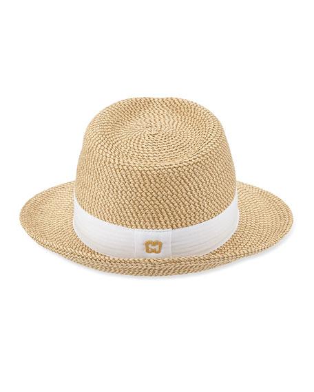 Squishee Classic Woven Fedora Hat