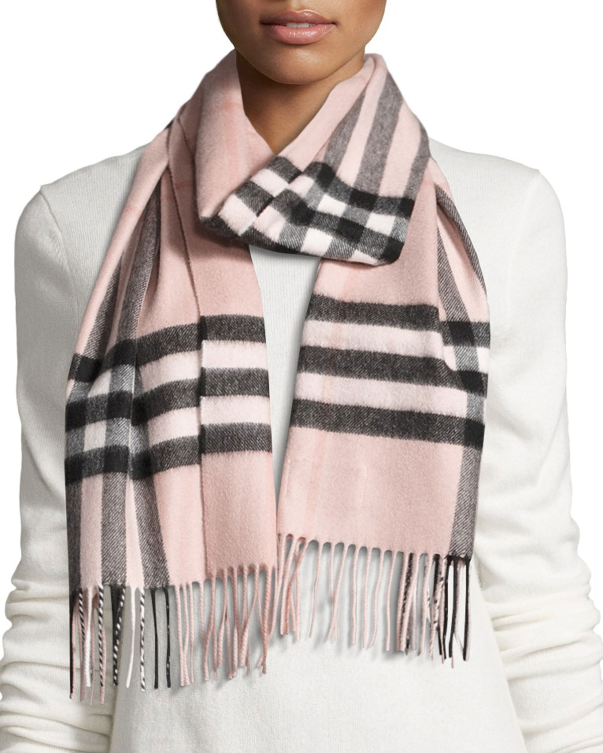 f509be625b06 Quick Look. Burberry · Giant Check Cashmere Scarf ...