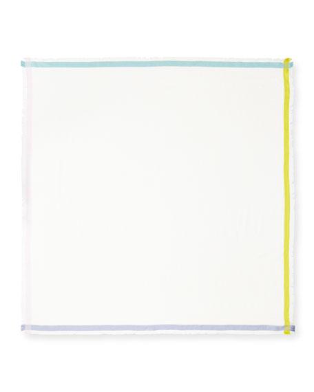 Quadrata Soffio Cashmere & Silk Scarf