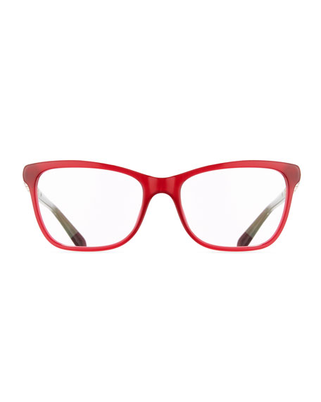 Serpenti 55mm Square Optical Frames