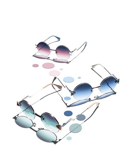 Rainbow Round Sunglasses