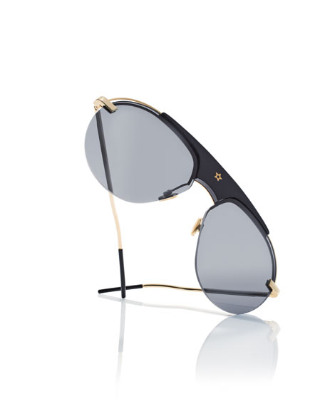 Dior Dio(R)evolution Aviator Sunglasses
