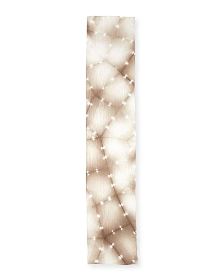 Convergence Shibori Silk Scarf