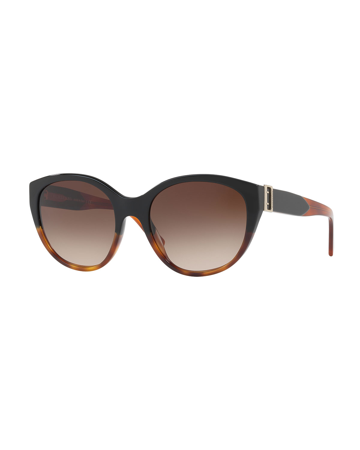 0cc2cac55ffd Burberry Gradient Cat-Eye Buckle Sunglasses