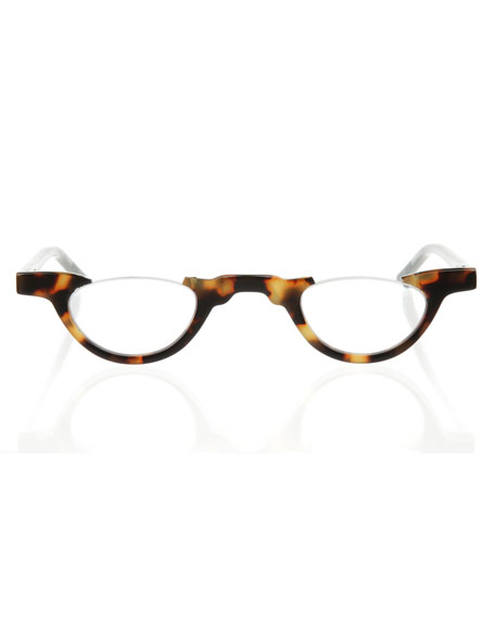 Image 2 of 2: Eyebobs Topless Semi-Rimless Acetate Readers
