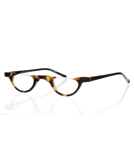 Image 1 of 2: Eyebobs Topless Semi-Rimless Acetate Readers