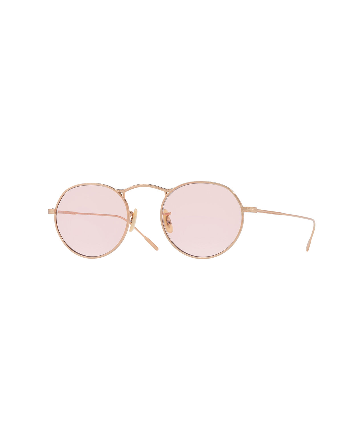 431683396d5 Oliver Peoples M-4 30th Round Metal Sunglasses