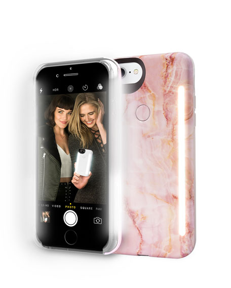Image 1 of 3: Limited Edition iPhone 8 Photo-Lighting Duo Case, Pink Quartz