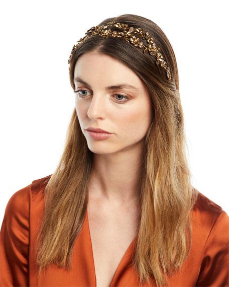 Jennifer Behr Adele Floral Circlet Headband