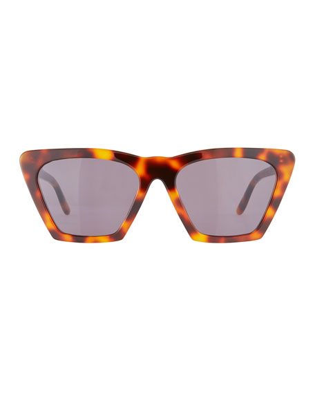 Illesteva Lisbon Cat-Eye Acetate Sunglasses