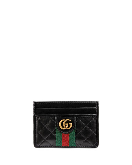Gucci Bags Trapuntata Leather Card Case