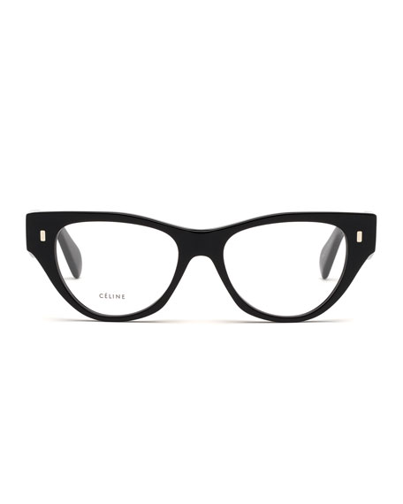 Image 2 of 3: Acetate Cat-Eye Optical Frames