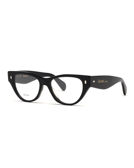 Image 1 of 3: Acetate Cat-Eye Optical Frames