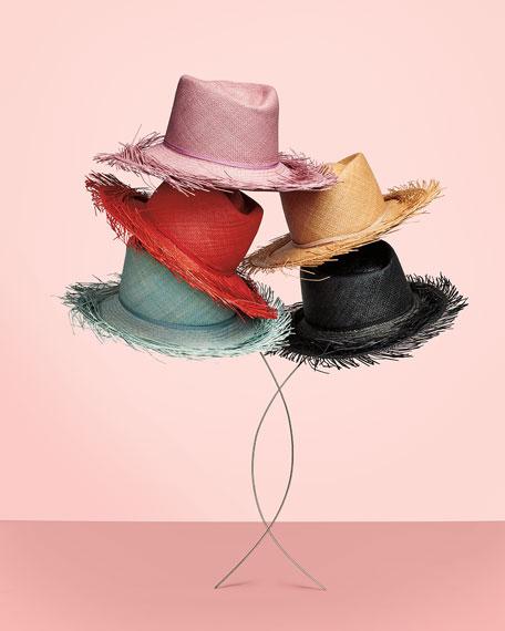 Gigi Burris Bungalow Straw Panama Hat