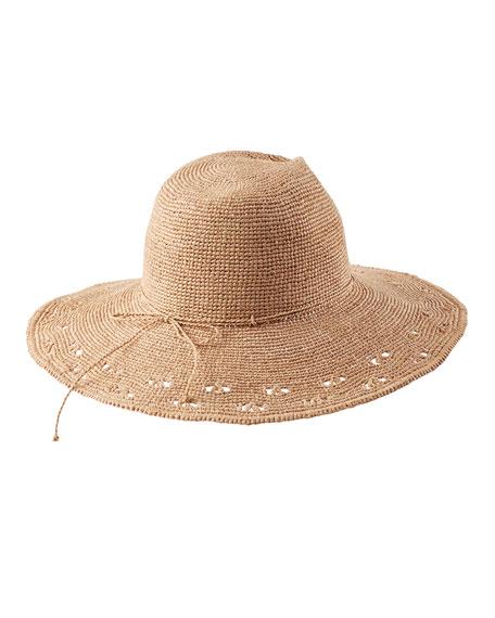 Helen Kaminski Eliana Raffia Fedora Hat