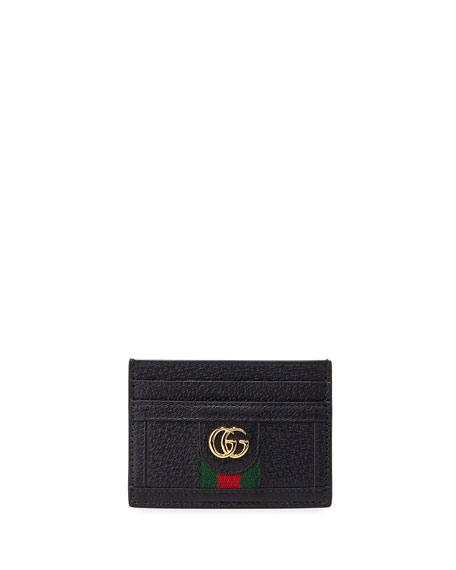 Gucci Bags Ophidia Leather Card Case