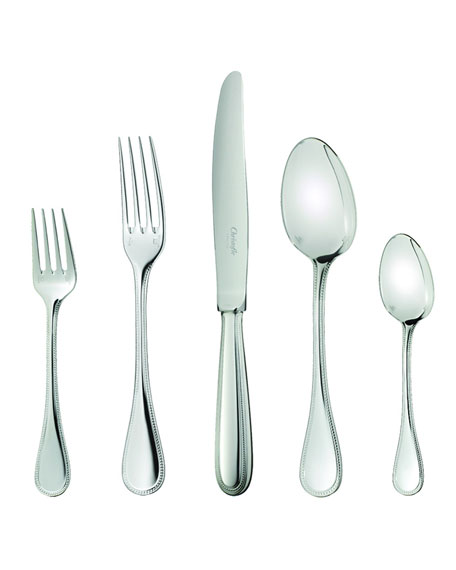Christofle Perles 2 Dinner Fork