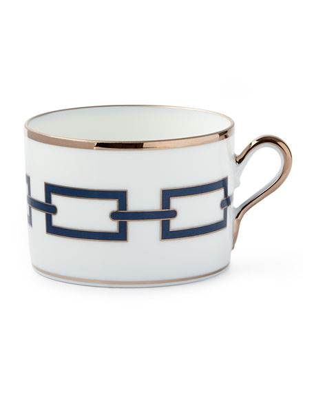 Richard Ginori 1735 Catene Blue Teacup