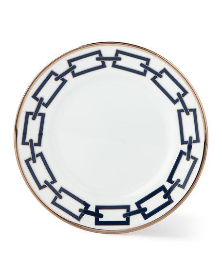 Catene Blue Bread & Butter Plate