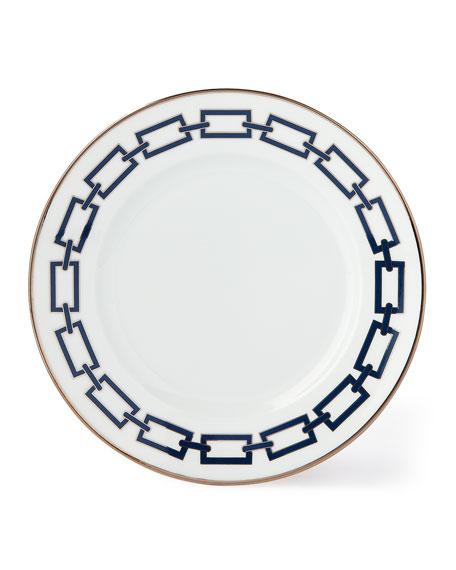 Richard Ginori 1735 Catene Blue Salad/Dessert Plate