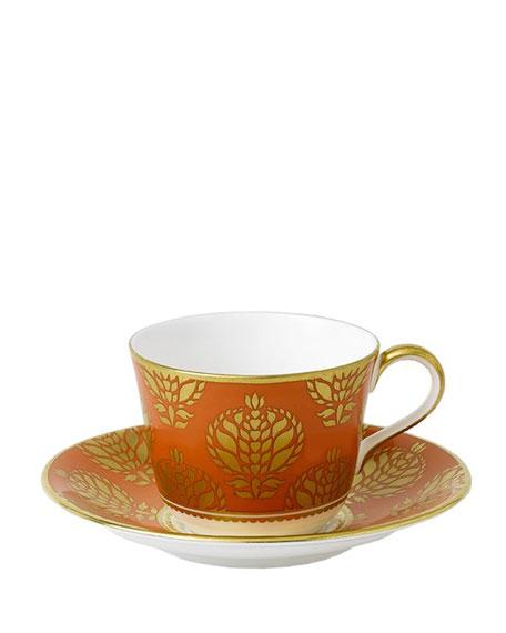 Royal Crown Derby Bristol Orange Cup