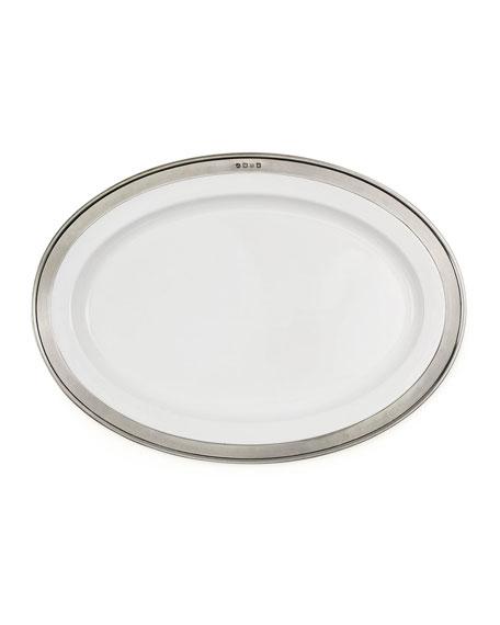 Match Convivio Oval Serving Platter