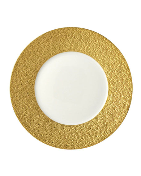 Ecume Gold Salad Plate