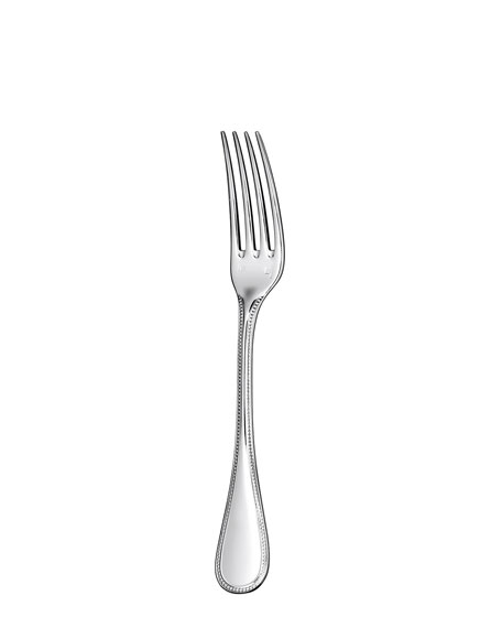 Christofle Perles Silver-Plated Salad Fork