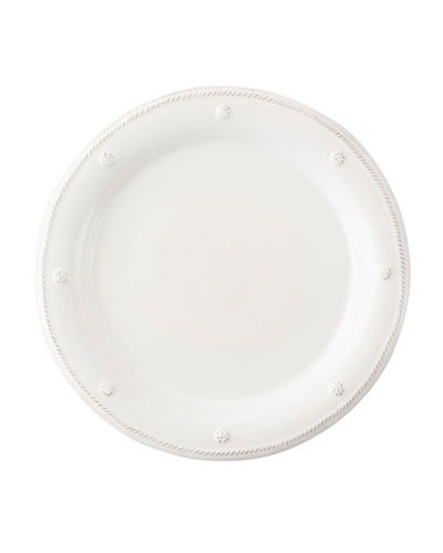 Berry & Thread White Round Salad Plate