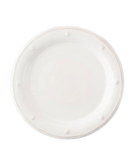 Juliska Berry & Thread White Round Salad Plate