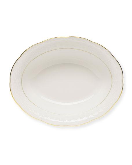 Golden Edge Open Vegetable Dish
