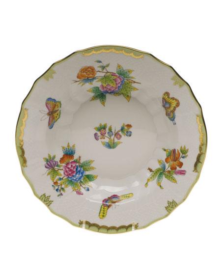 Queen Victoria Rimmed Soup Bowl