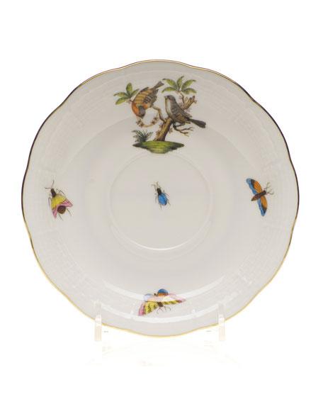 Herend Rothschild Bird Saucer #12