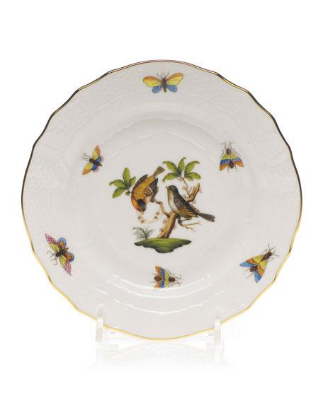 Herend Rothschild Bird Bread & Butter Plate #12