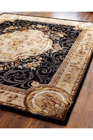 "Safavieh Aubusson Night Runner, 2'6"" x 12"""