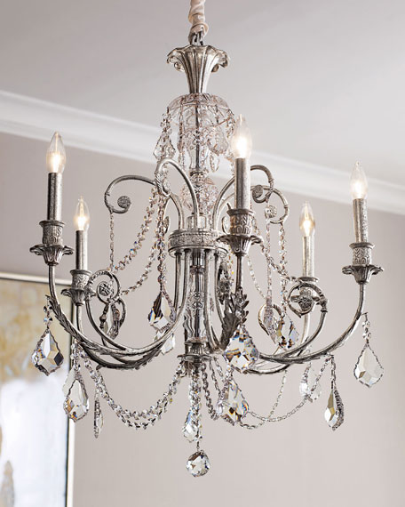 Crystorama Delphine 6-Light Chandelier