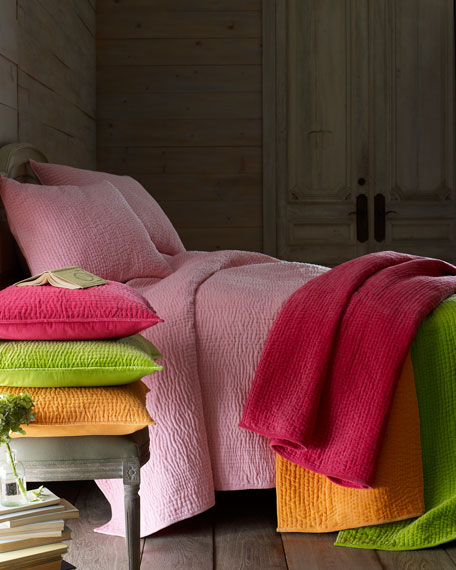 Amity Home Twin Ethan Velvet Quilt