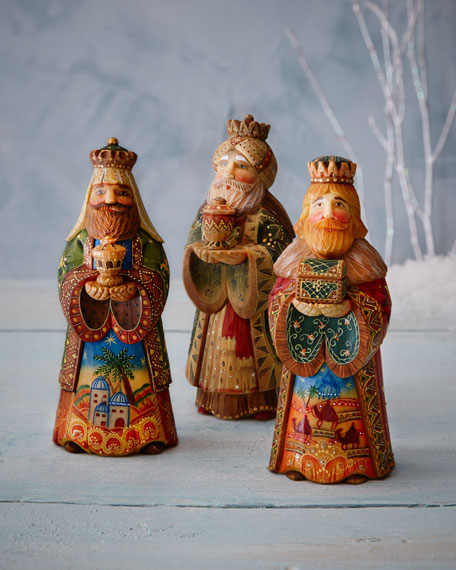 Nativity King Set