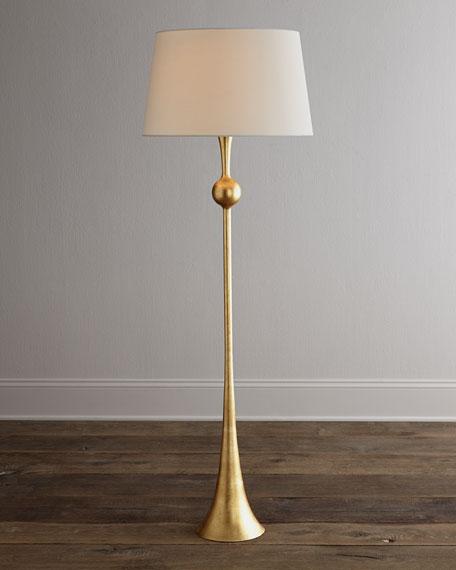 Dover Gold Floor Lamp