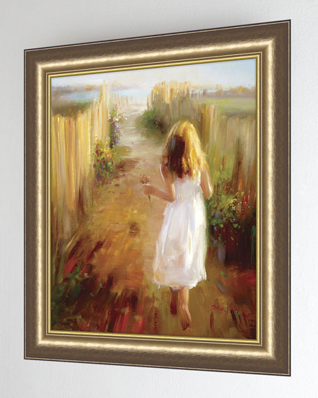 """Summer Stroll"" Giclee on Canvas Wall Art"