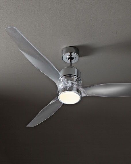 52 sonet chrome ceiling fan neiman marcus aloadofball Image collections