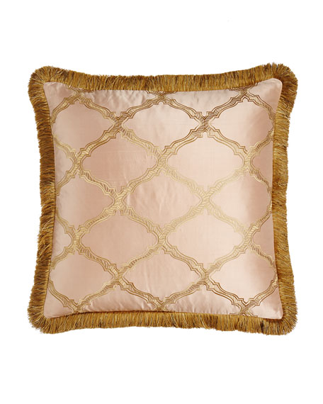 Sweet Dreams Versailles European Sham with Fringe
