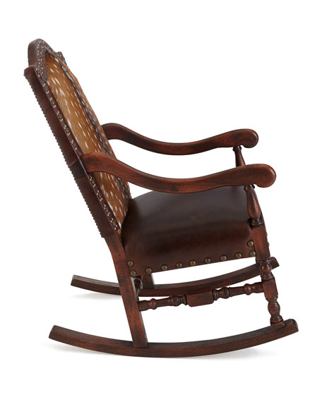 Image 4 of 4: Old Hickory Tannery Jefferson Rocking Chair
