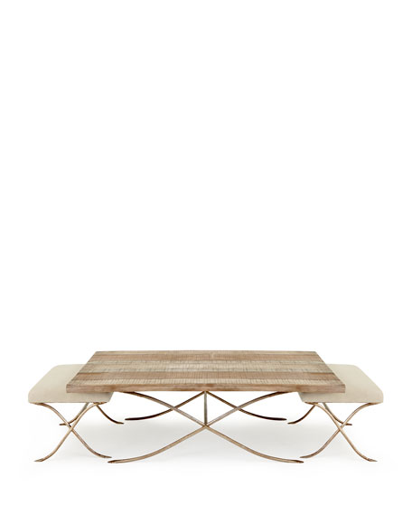 Kye Coffee Table with Two Stools