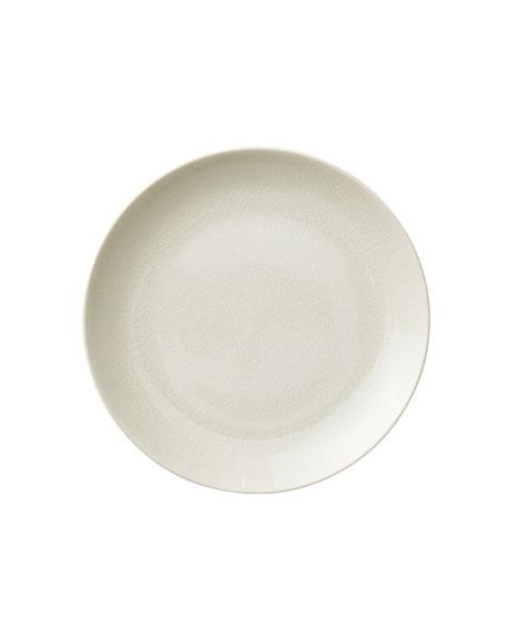 Opal Crackle Dessert Plate
