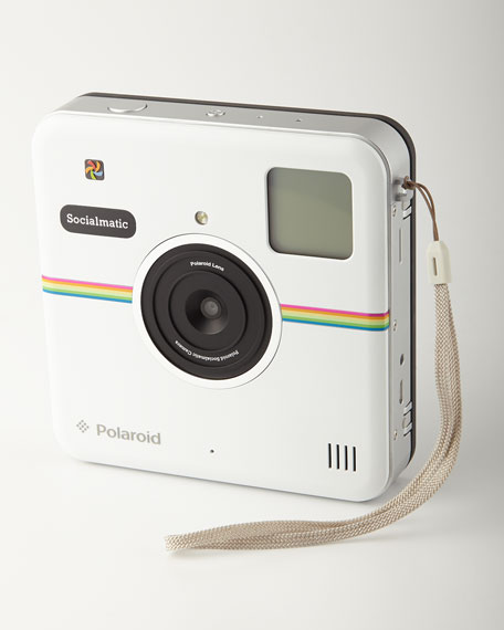 Polaroid White Digital Camera
