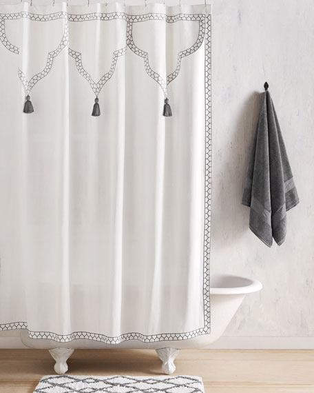 Shower Curtains cotton shower curtains : Cotton Shower Curtain | Neiman Marcus