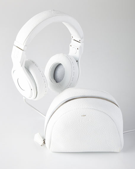 FENDI White Beats On-Ear Headphones